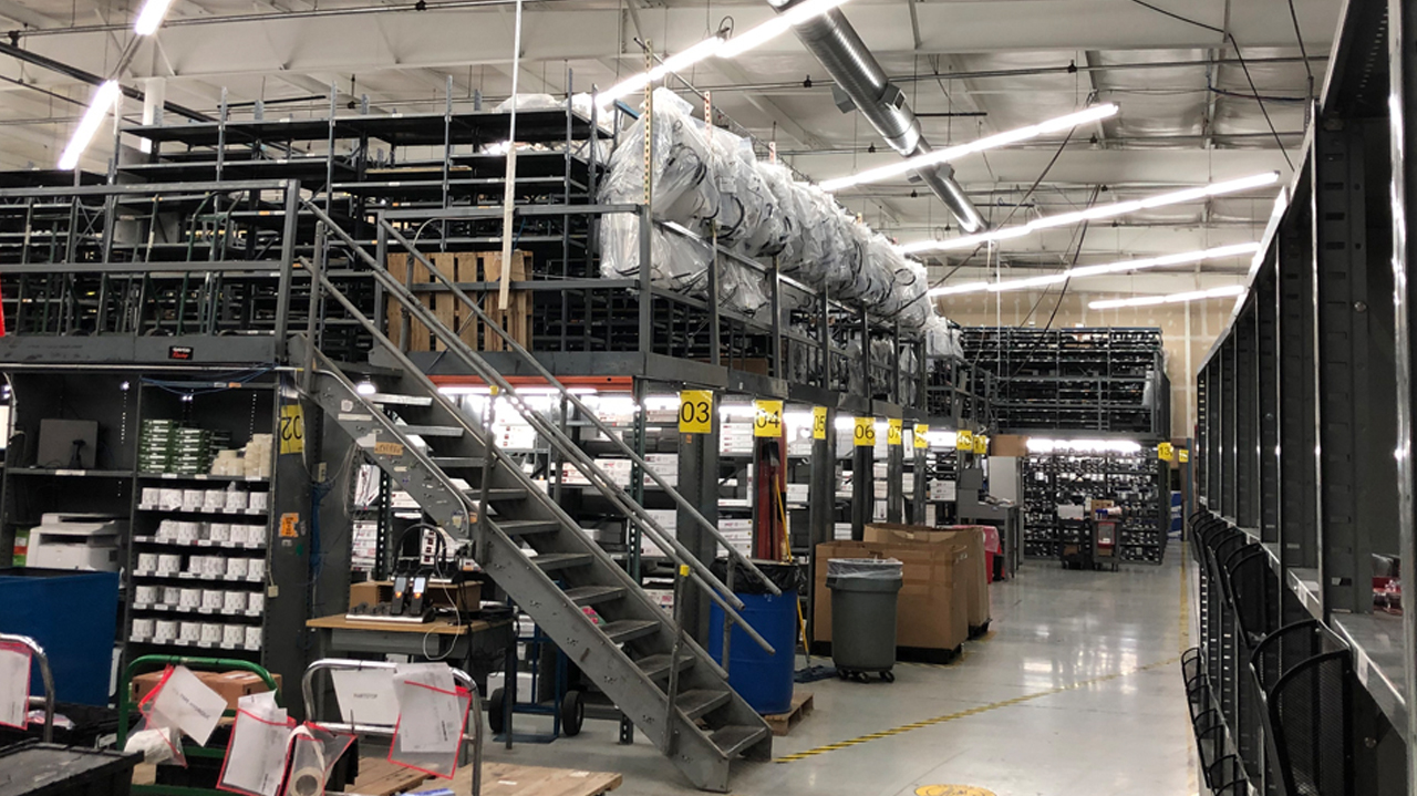 Inside the Warehouse at Crown Auto Parts