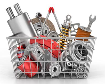 Crown Auto Parts Website Cart