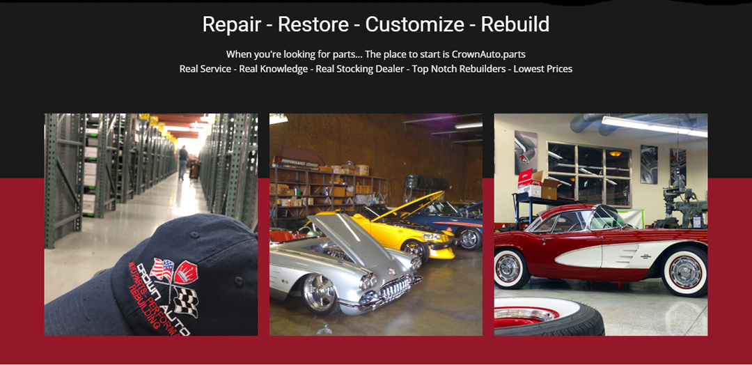 Crown Auto Parts - Warehouse - Garage - Machine Shop