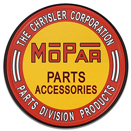 Chrysler parts sign