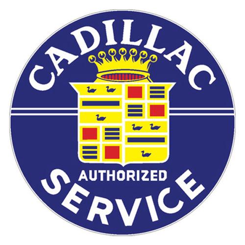 Cadillac Parts sign