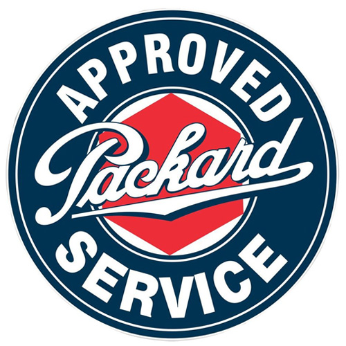 Packard parts sign