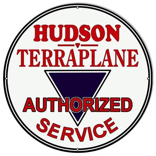 HUdson parts sign