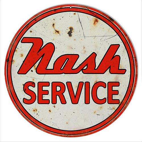 Nash parts sign