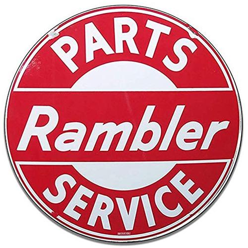 Rambler parts sign