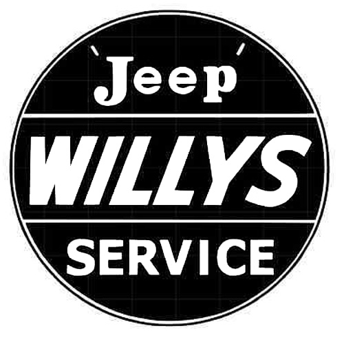 Willy's parts sign