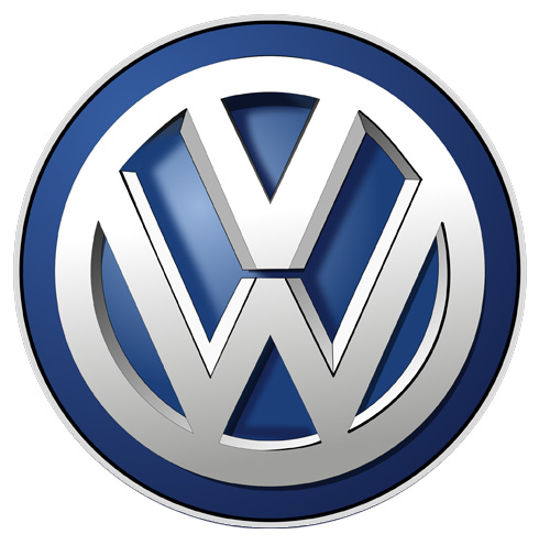 Volkswagen parts sign
