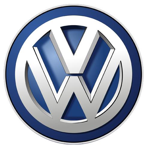 Volkswagen parts sign