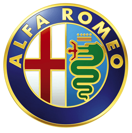 Alfa Romeo metal auto parts sign link - Crown Auto Parts