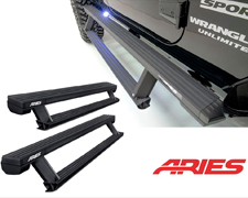 Aries Actiontrac running boards - Crown Auto Parts