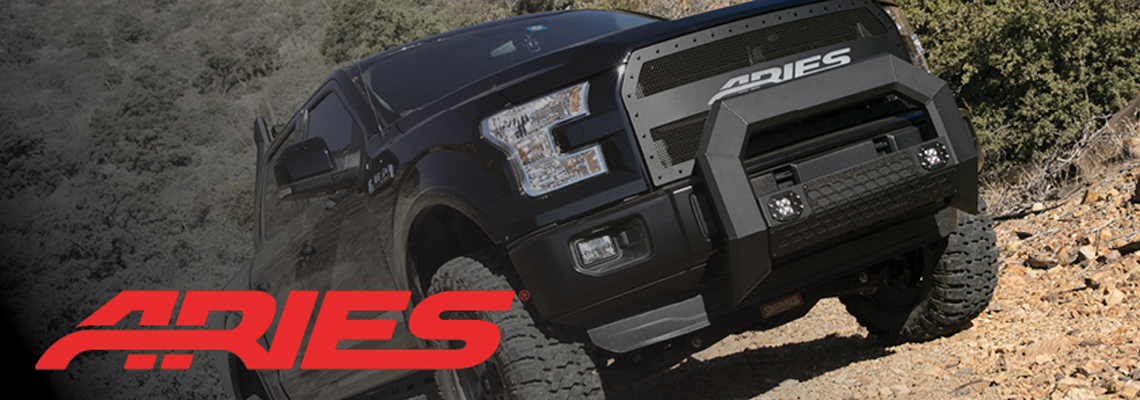 Aries Off road upgrades for trucks, jeeps, SUVs, crossovers - Crown Auto Parts