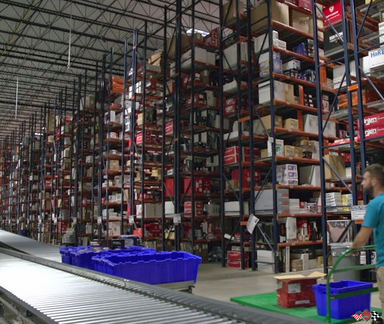 Crown Auto Parts Performance Warehouse distribution