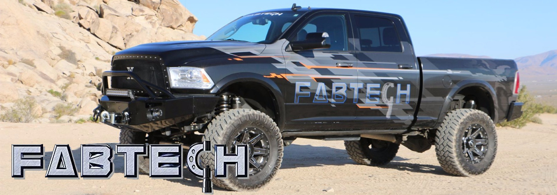 Fabtech Performance Suspension Products - Chevy Silverado black