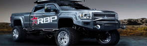 RBP Rolling Big Power Side Step Nerf Bars Banner - Crown Auto Parts