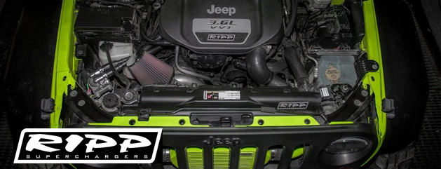 RIPP Superchargers Jeeps - Crown Auto Parts