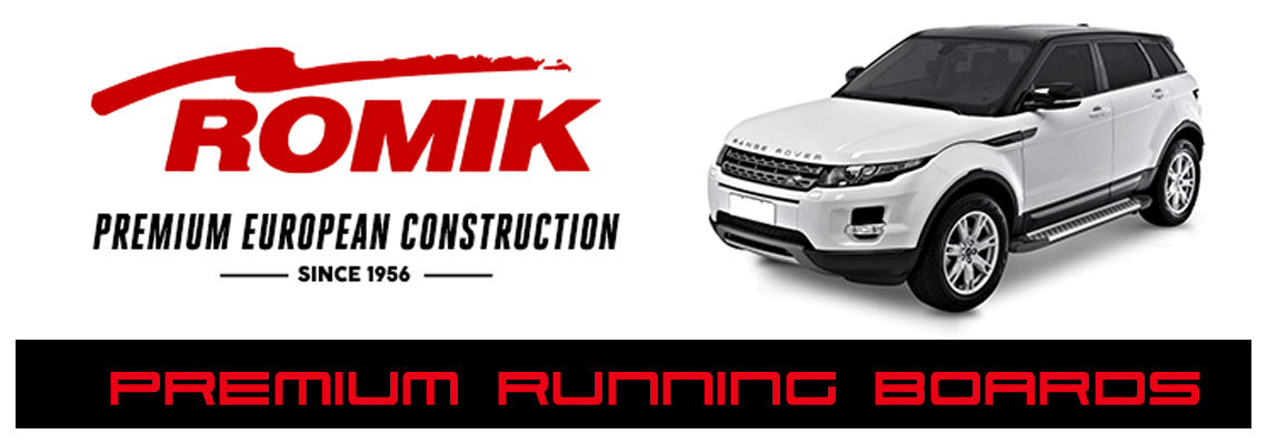 Romik Premium off road running boards - Crown Auto Parts