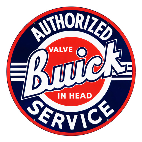 Buick metal sign auto parts link - Crown Auto Parts