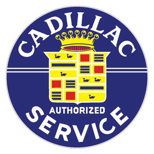 Cadillac metal sign auto parts link - Crown Auto Parts