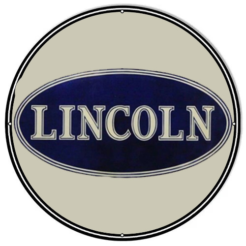 Lincoln motors metal auto parts sign link - Crown Auto Parts