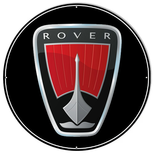 Rover metal sign auto parts link - Crown Auto Parts