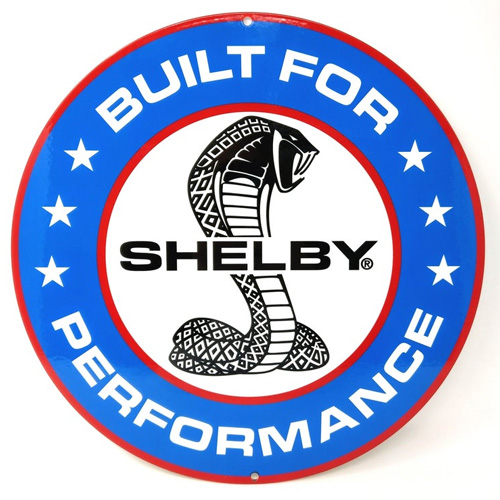 Shelby metal auto parts sign link - Crown Auto Parts