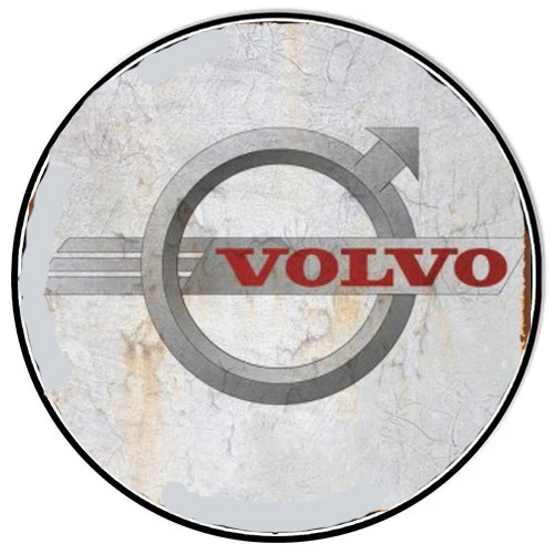 Volvo metal sign auto parts link - Crown Auto Parts
