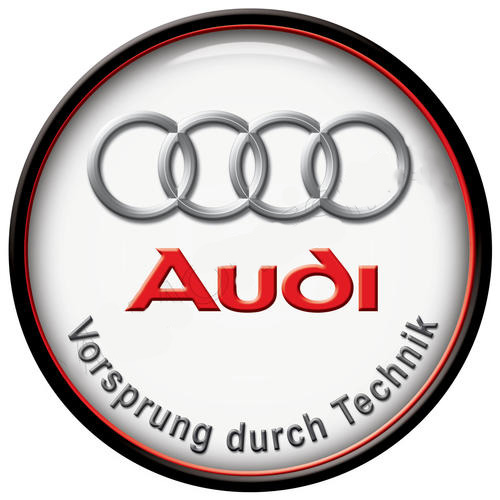 Audi metal sign auto parts link - Crown Auto Parts