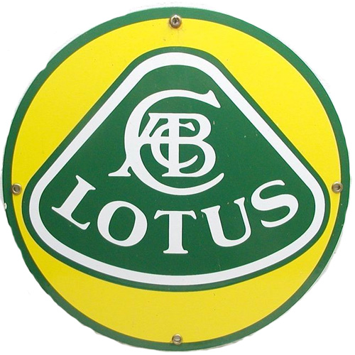 Lotus Motors metal auto parts sign link - Crown Auto Parts