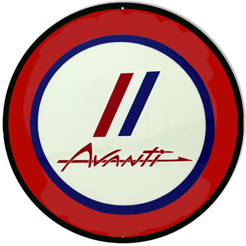 Avanti metal sign auto parts link - Crown Auto Parts