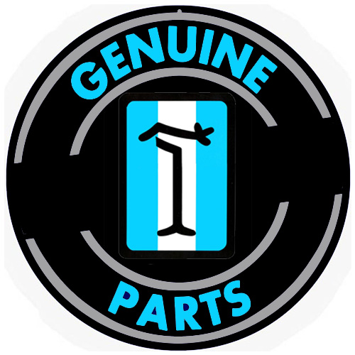Detomaso metal sign auto parts link - Crown Auto Parts
