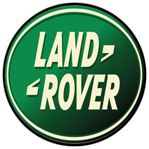 Land Rover Motors metal auto parts sign link - Crown Auto Parts