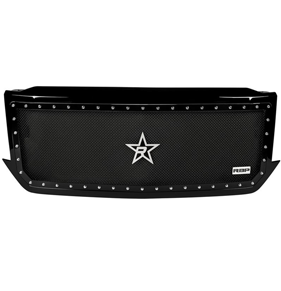 Custom aftermarket automotive grille