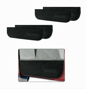 Interior door trim panel set