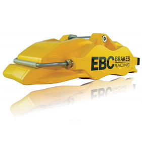 Performance disc brake caliper - ebc yellow