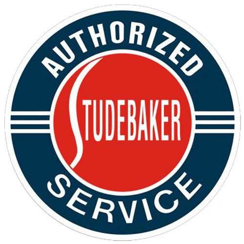 Studebaker metal auto parts sign link - Crown Auto Parts