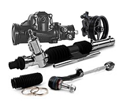 Major automotive steering components
